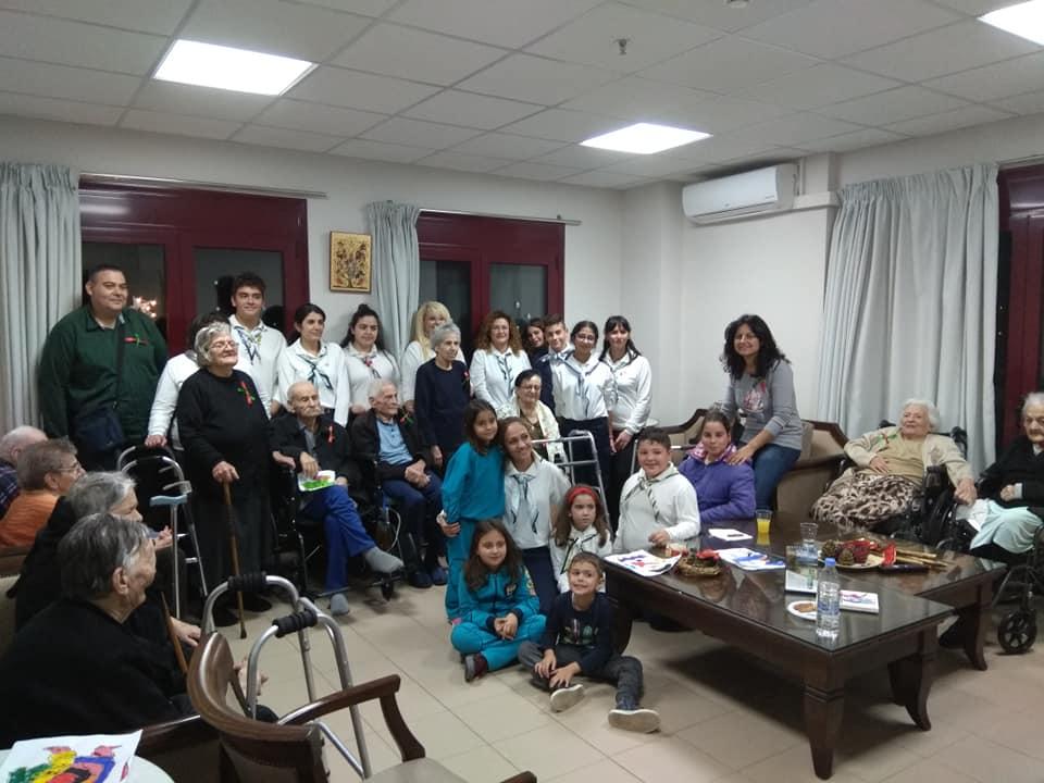 Επίσκεψη του Τμήματος Σώματος Ελληνικού Οδηγισμού Νεαπόλεως